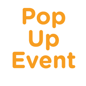 You're Invited to a Pop-Up Event