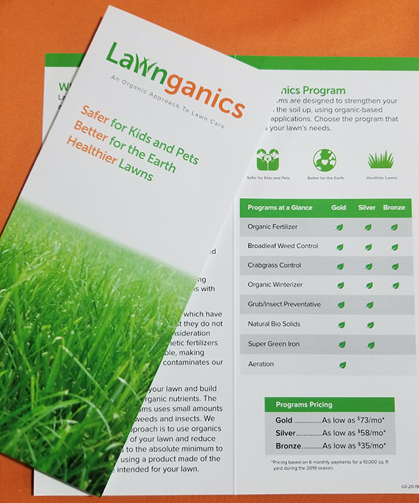 Lawnganics Brochure