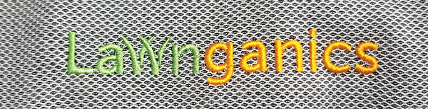 Lawnganics embroidered logo